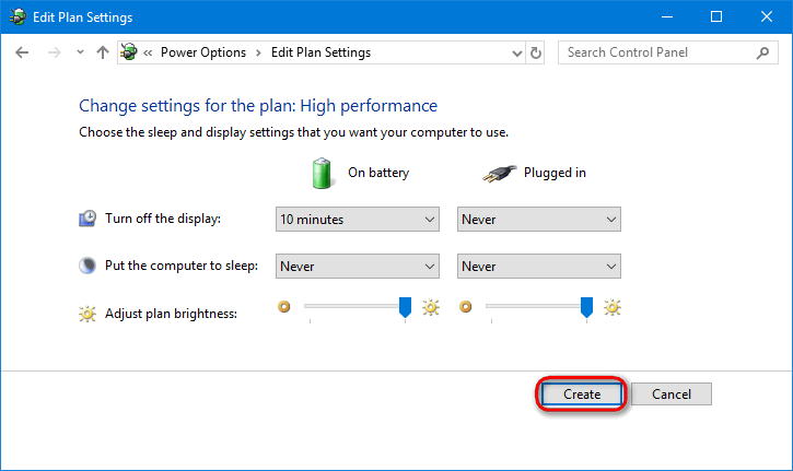 Performance Plan | Add High Performance Plan On Windows 10 If It Is Missing In Power