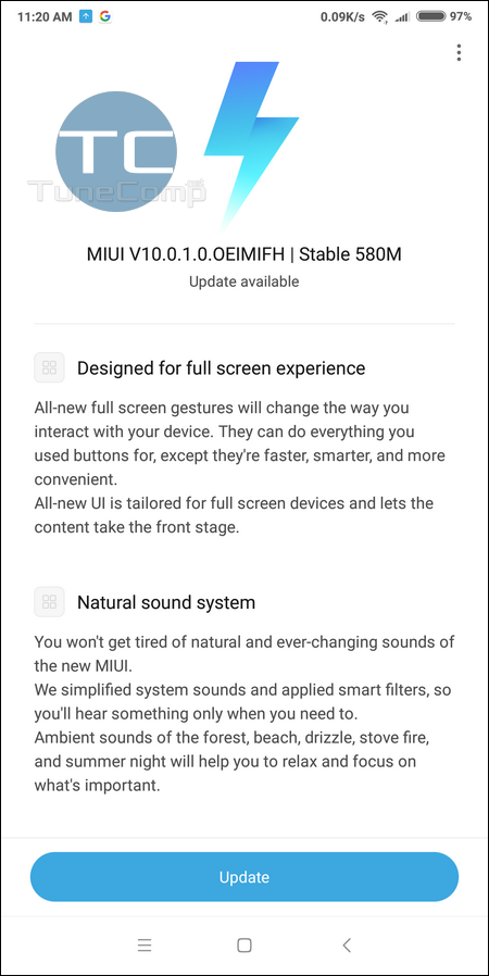 Xiaomi Redmi Note 5 Won't Detect MIUI Update