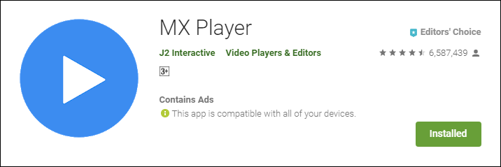 MX Player J2 Interactive