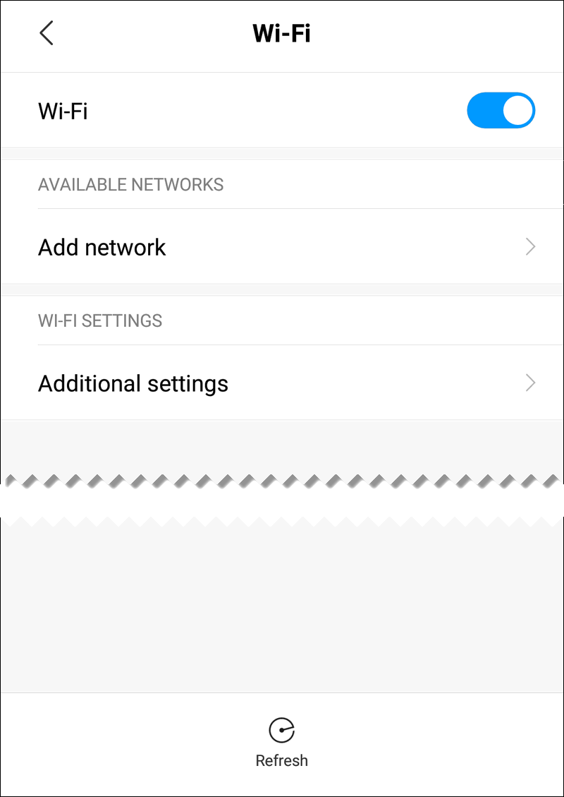Wi-Fi Not Working on Xiaomi Redmi Note 5 - No Wi-Fi Networks Available