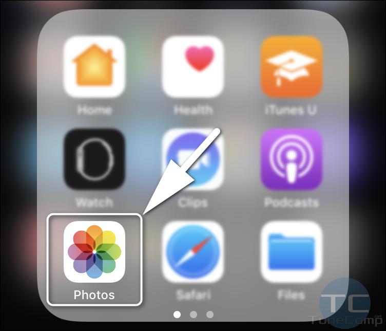 Apple Photos app