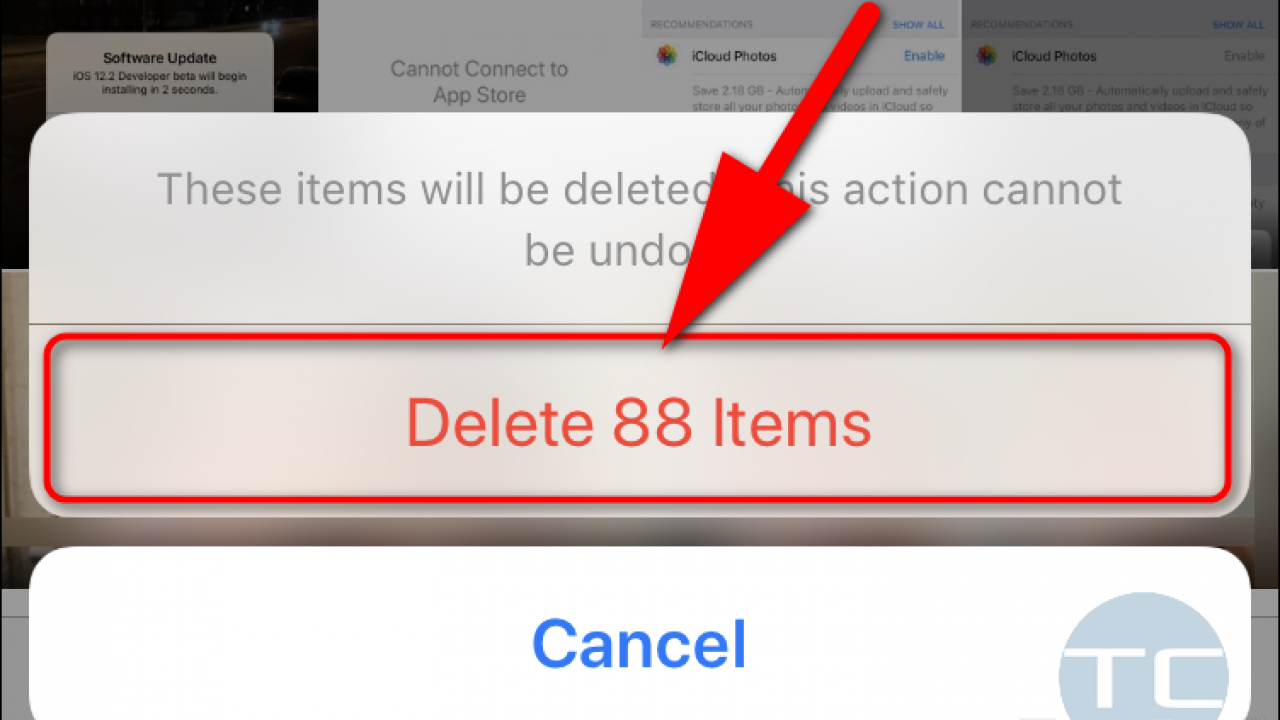 How To Remove All Deleted Photos And Videos From Iphone To Free Up Space