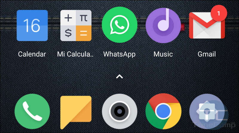 notification badges as numbers on Xiaomi POCO Launcher