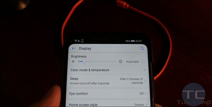 cant change screen sleep timeout in huawei display settings