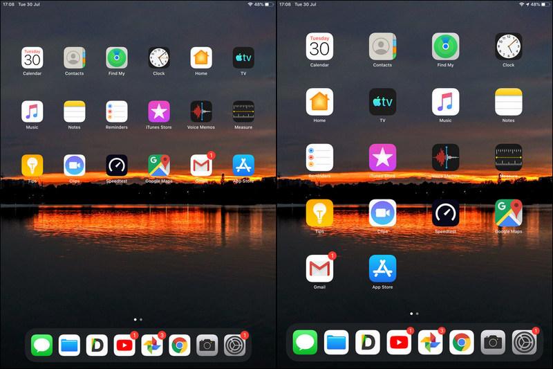change app icons size iPad iOS 13