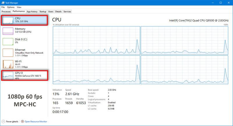 1080p 60 FPS MPC-HC