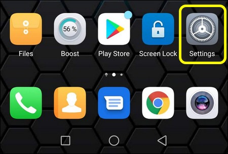 Huawei Settings Android 9 EMUI 9