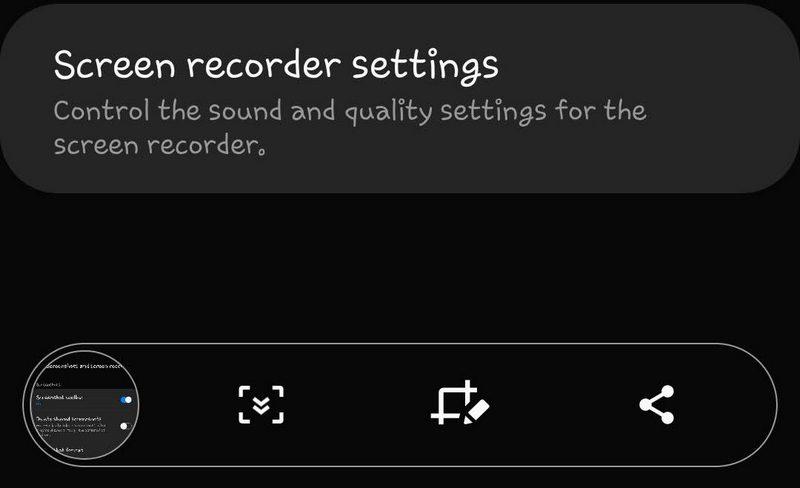 disable the screenshot toolbar on Galaxy S20