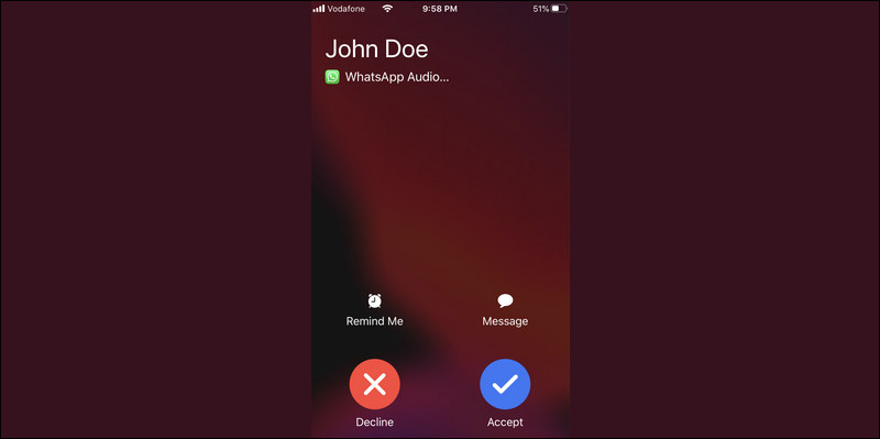 Block Calls from Strangers on WhatsApp
