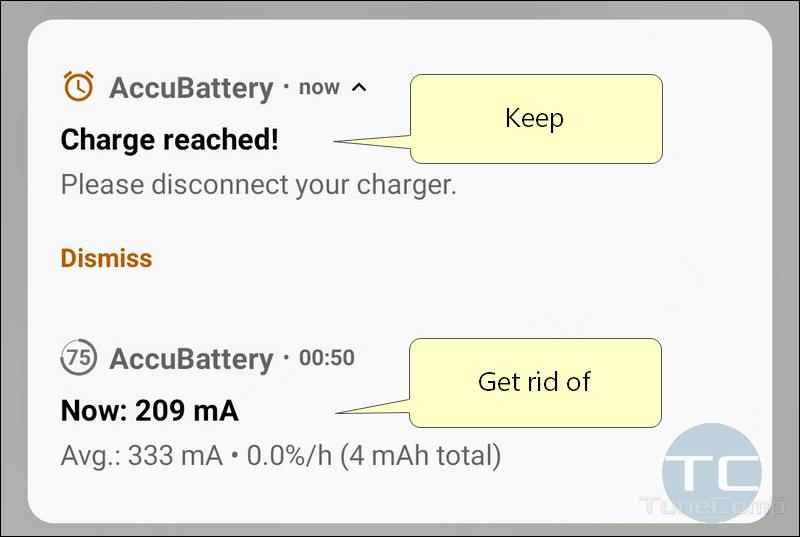AccuBattery Charge Alarm & Battery Status