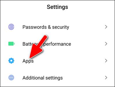 Xiaomi MIUI 11 Apps