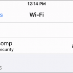 fix Wi-Fi Weak Security iPhone iOS 14